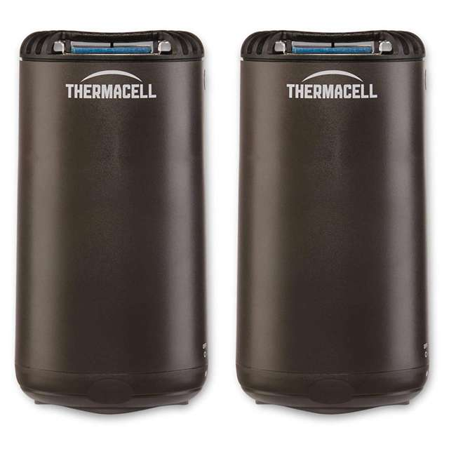 MRPSL Thermacell Outdoor Patio & Camping Mosquito Insect Repellent, Graphite (2 Pack)