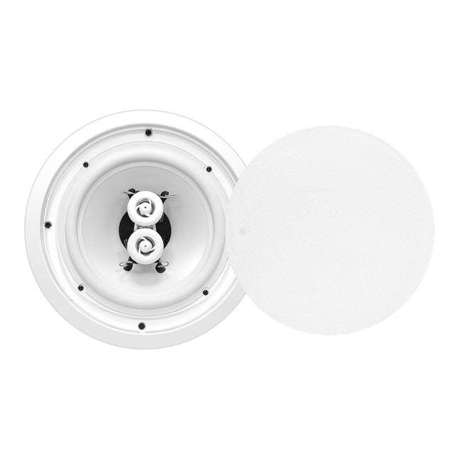 4 x PWRC52 Pyle 5.25-Inch 200-Watt Home In-Wall Stereo Speaker (4 Pack) 3