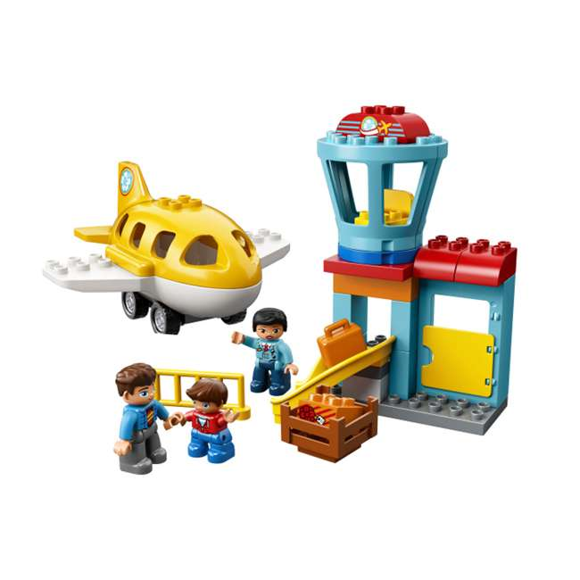 6213743 LEGO DUPLO 29-Piece Town Airport Travel Building Toddler Playset (2 Pack)