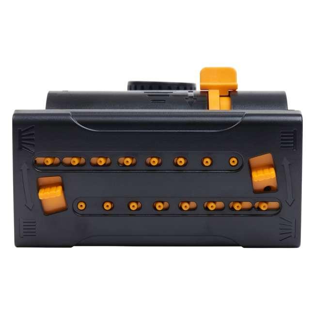 MEL-4065 Melnor MiniMax Turbo Oscillating Sprinkler on Step-Spike, Black 3