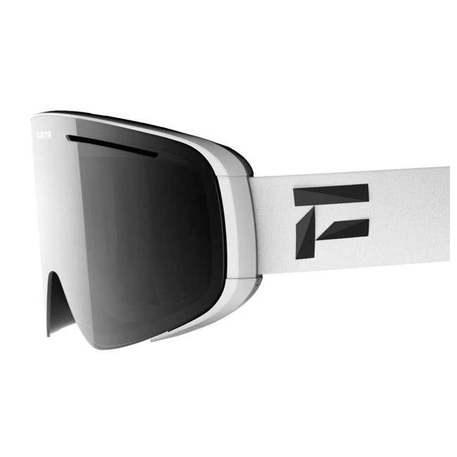 FX801102010ONE Flaxta FX801102010ONE Plenty Ski & Snowboard Goggles White with Silver Lenses 1