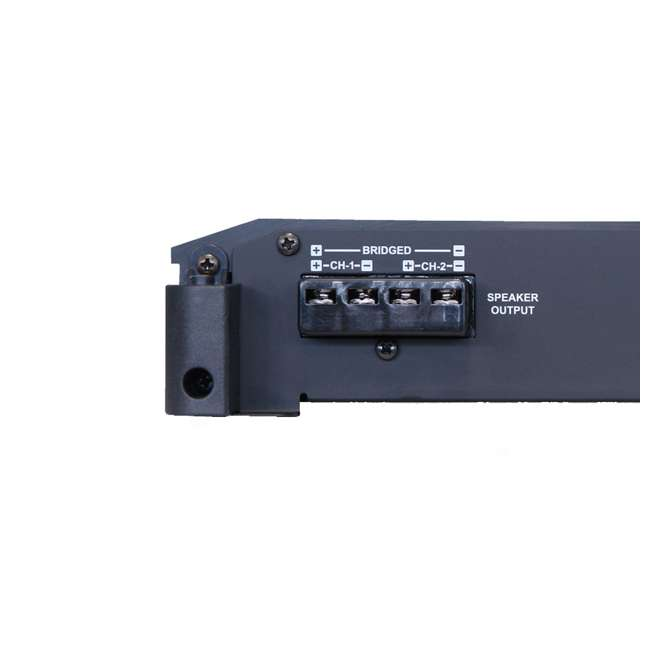 BBX-T600 Alpine 600W BBX Series Class-A/B Amplifier (2 Pack) 6