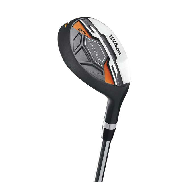 WGGC58300 Wilson Profile XD Teen Right Handed Complete Golf Club Set w/Orange Bag (2 Pack) 4