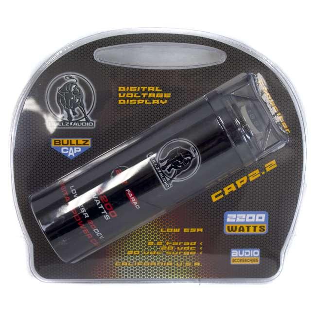 BCAP2.2 Bullz Audio 2200W Digital Farad Capacitor | BCAP2.2 5