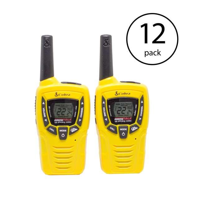 6 x CX335 Cobra 23-Mile Sports Walkie Talkie Radios (12 Pack)