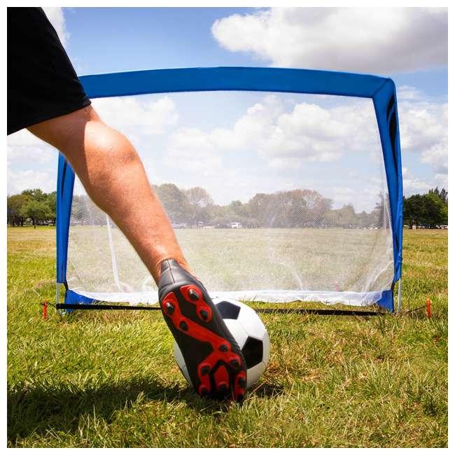 SO200Y19004 Training Equipment Pair of 4 Foot Pop Up Soccer Goals 6