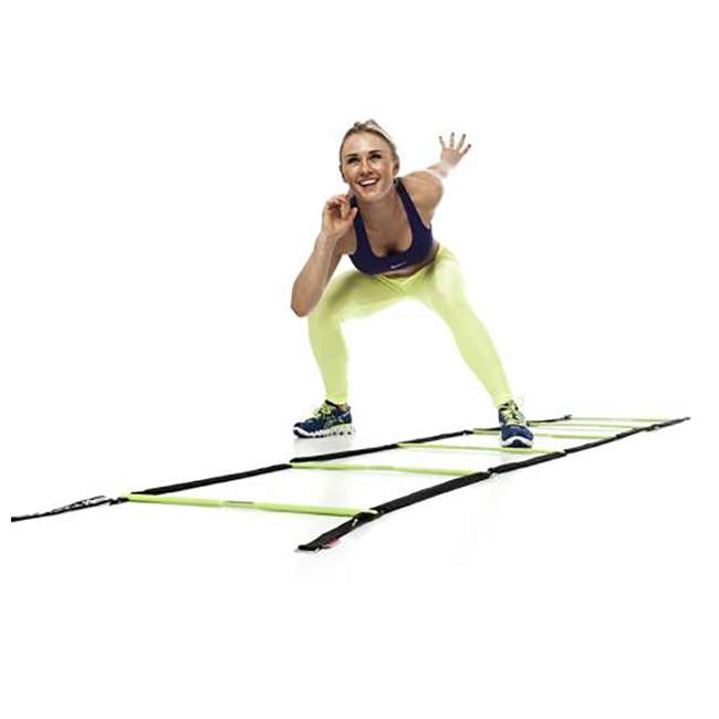 EST-SL Escape Fitness 10' Long Speed Ladder for Total Body Fitness Training w/Carry Bag 3
