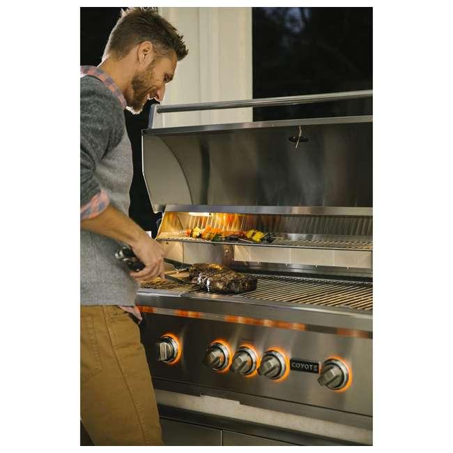 C2SL36NG Coyote C2SL36NG S Series 3 Burner 875 Square Inch Built In Natural Gas Grill 4