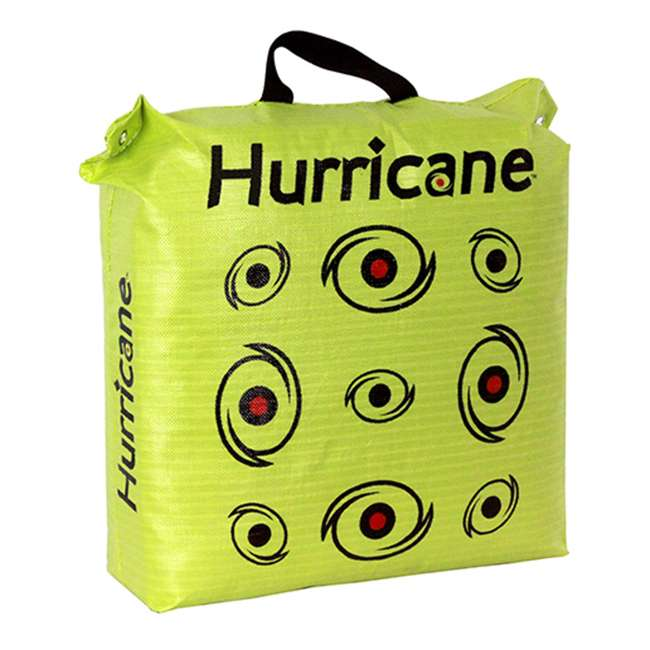 H60450 Hurricane H-20 Deer Archery Target w/ HME Bowhunting 30 Inch Bag Target Stand 1