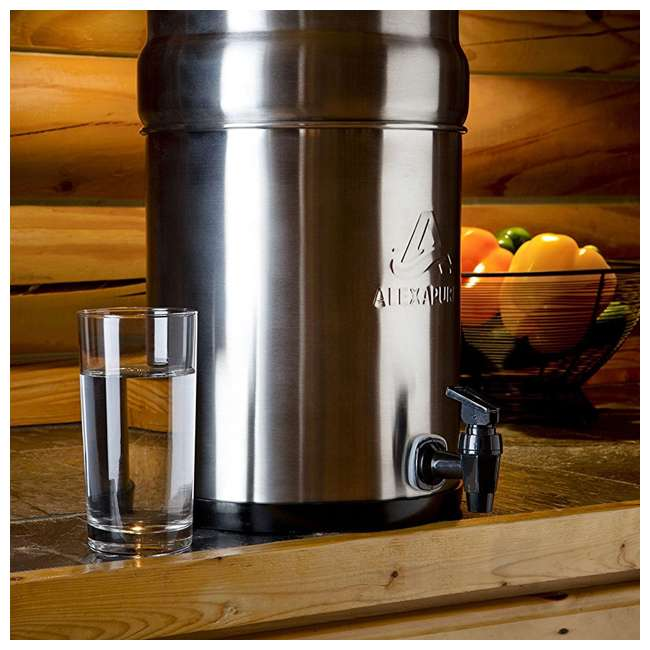 ALEXAPURE-2394 Alexapure Pro Stainless Steel Water Filtration System 7