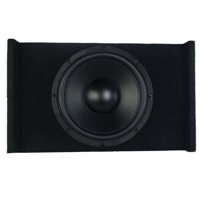 P-W121B Kenwood P-W121B 12-Inch Loaded Sealed Subwoofer & Amp Package 1