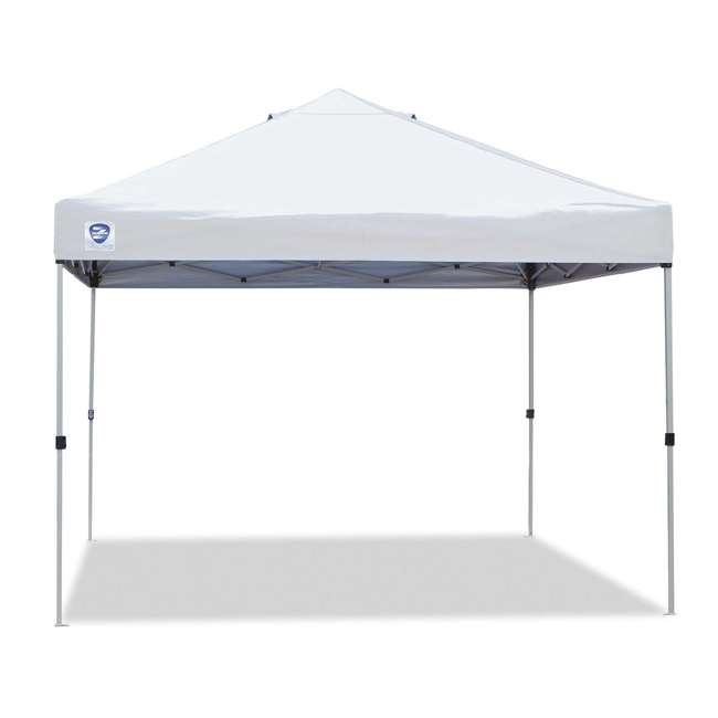ZS1010PKWH-U-A Z-Shade 10' x 10' Peak Canopy Instant Portable Shelter (Open Box) (2 Pack)