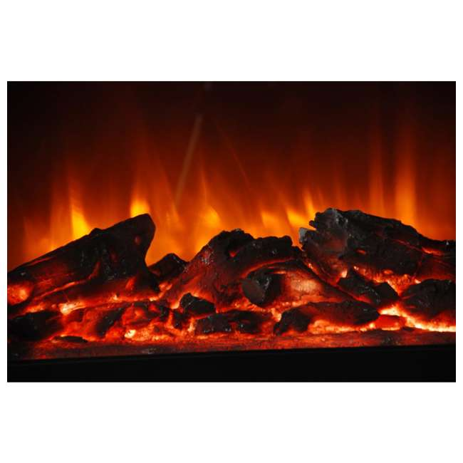 FP1136 Lifesmart FP1136 Large Room Infrared Quartz Fireplace Zone Heater, Faux Stone 2