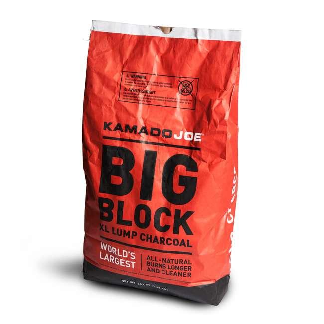 BJ24RHC + KJ-CHAR Kamado Joe Ceramic Charcoal Grill and Premium Lump Charcoal 7