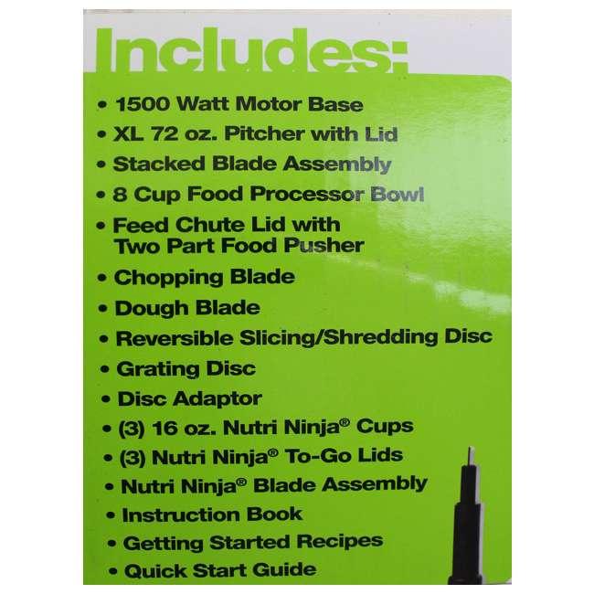 Ninja Mega Kitchen System 1500W Food Processor Blender Package | BL773CO