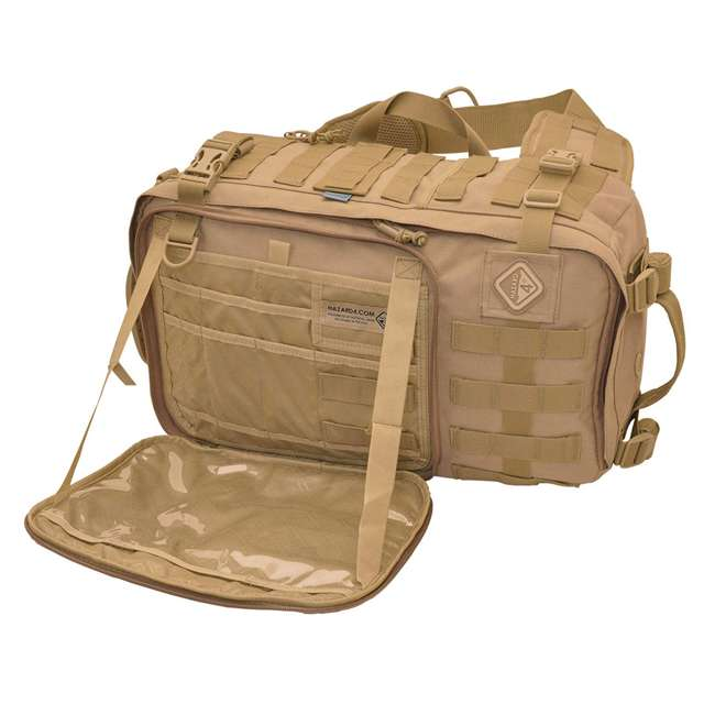 BKP-SWTC-CYT Hazard 4 Progressive Tactical Gear Sidewinder Full Sized Laptop Bag, Coyote 1