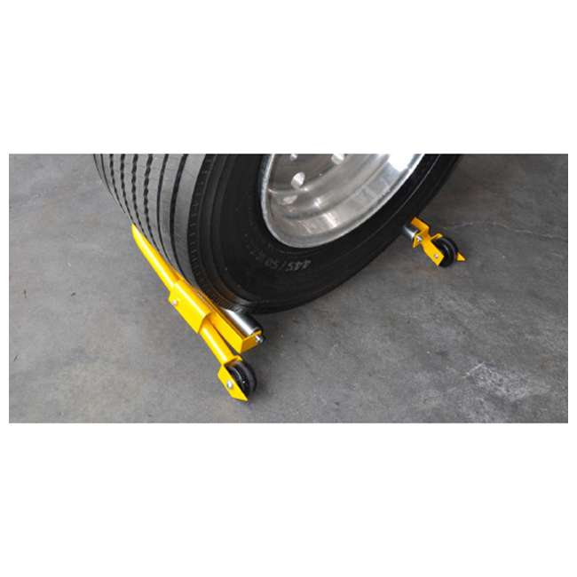 70132 ESCO 70132 Super Single Flotation Tire Heavy Duty Wheel Moving Dolly Device  2