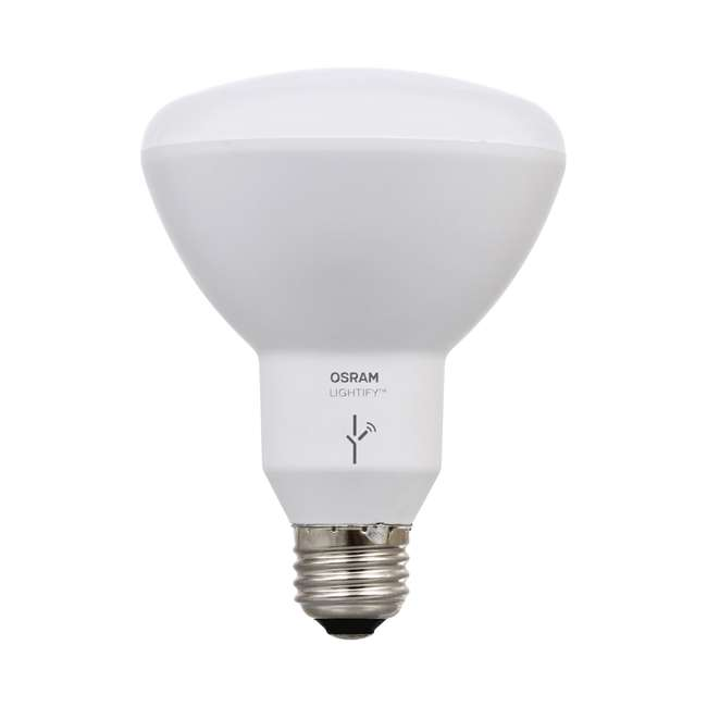 SYL-73857-2PK-U-A Sylvania Smart Home 65W BR30 White/Color LED Light Bulb (4 Bulbs) (Open Box) 2