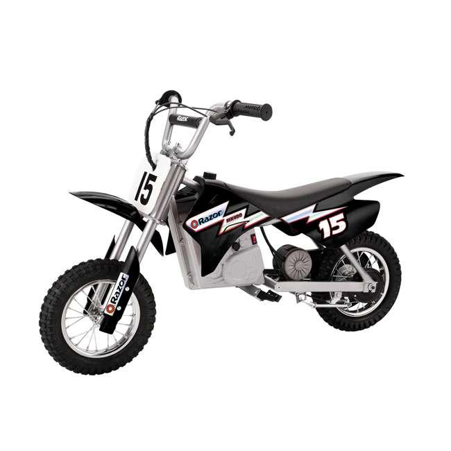 15128099 Razor MX400 Dirt Rocket Electric Motorcycle, Black