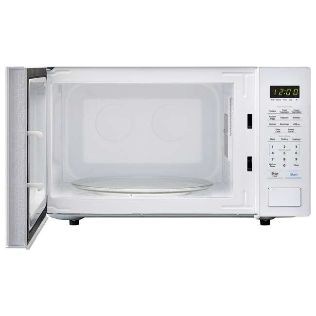 SMC1131CW-RB Sharp Carousel 1.1 Cu Ft Countertop 1000W Microwave Oven (Certified Refurbished) 1