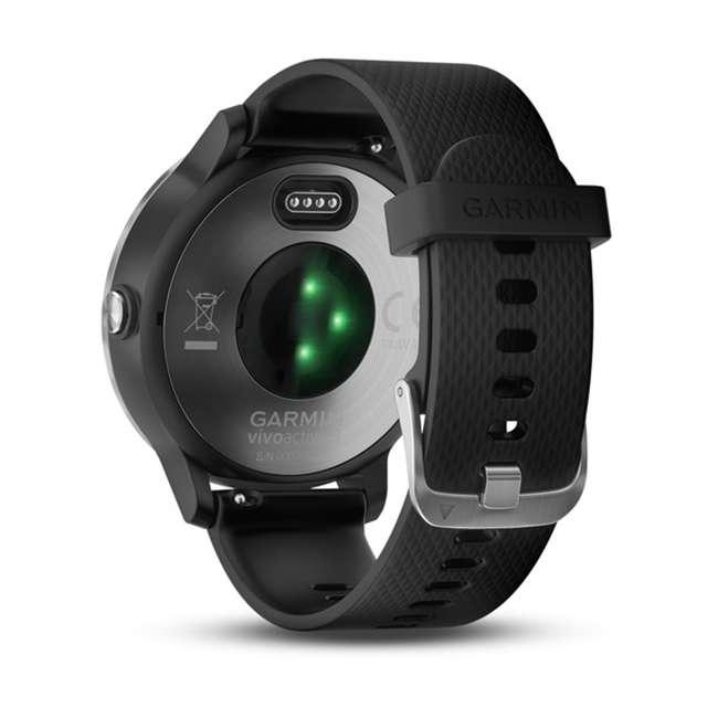 010-01769-01 Garmin Vívoactive 3 Active Smartwatch, Black with Silver 2
