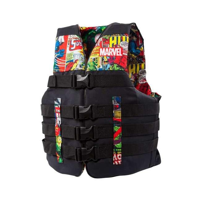MAR17243LXL Body Glove Marvel Method Life Jacket Vest, Large/X-Large (2 Pack)