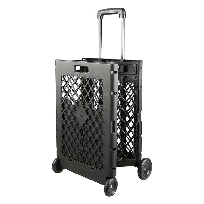 85-404 Olympia Tools 85-404 Pack n Roll Portable Folding Mesh Rolling Storage Cart 6