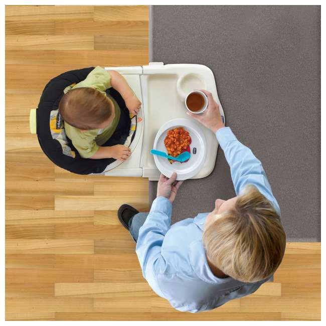 CHI-0706170530 Chicco 360 Rotating Hook-On Highchair (2 Pack) 5