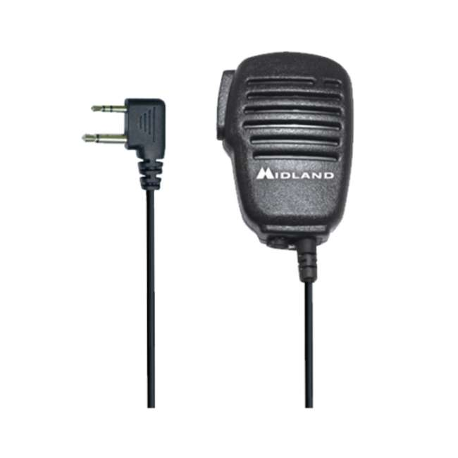 BA4 Midland Biztalk BA4 Speaker Mic for BR200 UHF Business Radio (2 Pack) 1