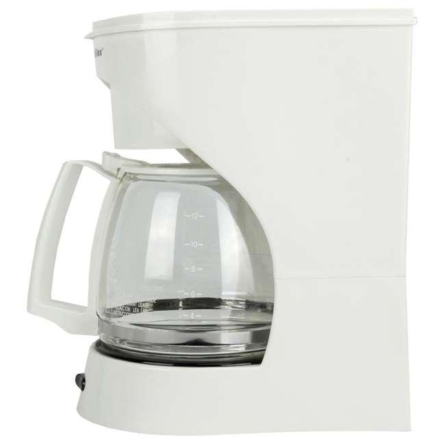 43501Y Proctor Silex 12-Cup Coffeemaker (White) | 43501Y 4
