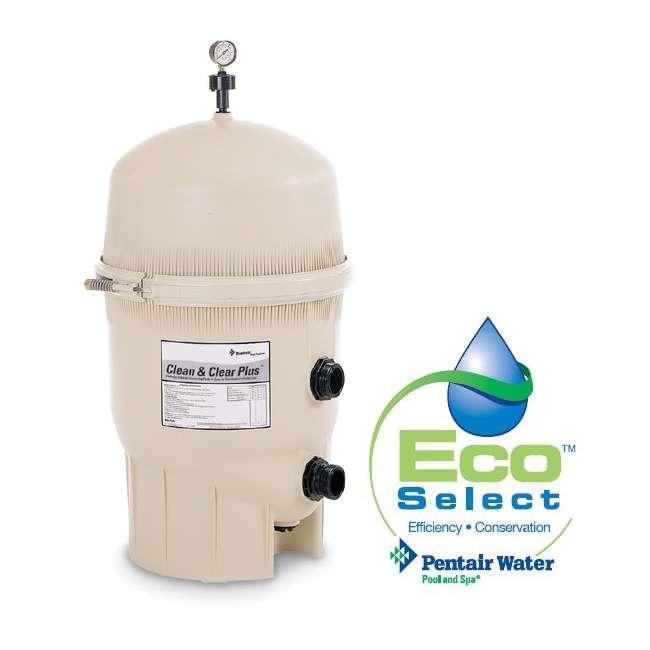 160340 PENTAIR 160340 CCP320 Clean & Clear Plus Cartridge Inground Swimming Pool Filter (2 Pack) 1