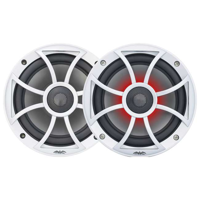 "RECON6SRGB Wet Sounds Recon 6.5"" 2-Way Marine Speakers w/ LED lights 1"