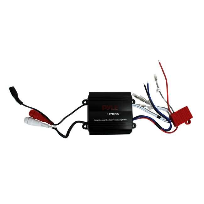 PLMRMP3B Pyle PLMRMP3B 800W 4-Channel Micro Marine Amplifier 1