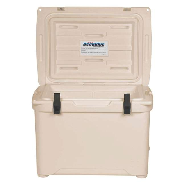 ENG50-CW Engel High-Performance Roto-Molded 50-Quart Portable Hard Drink Cooler, Coastal White 3