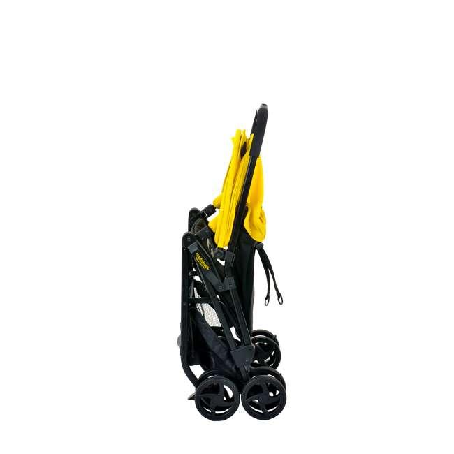 KE-7701BATYL Kids Embrace DC Comics Batman Lightweight Compact Stroller with Canopy, Yellow 6