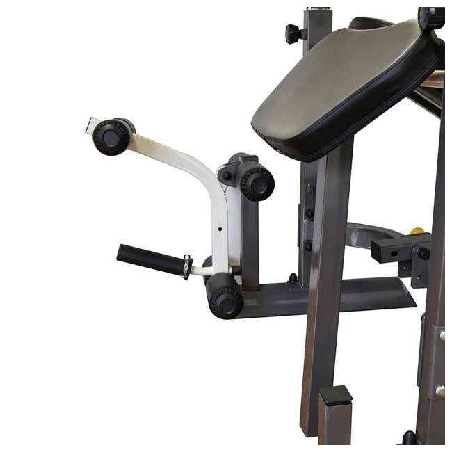 MWB-50100-U-A Marcy Foldable Mid Size Multi Function Rack Style Workout Bench (Open Box) 4