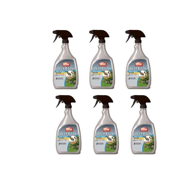 6 x SCT-48901005 Ortho Deer-B-Gon Deer & Rabbit Repellent, 24 Ounces (6 Pack)