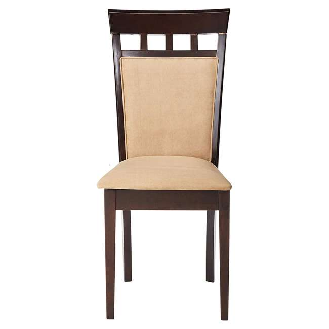 3 x 100773ii-PAIR Coaster Home Furnishings Gabriel Wheat Back Side Dining Room Chairs (6 Pack) 2