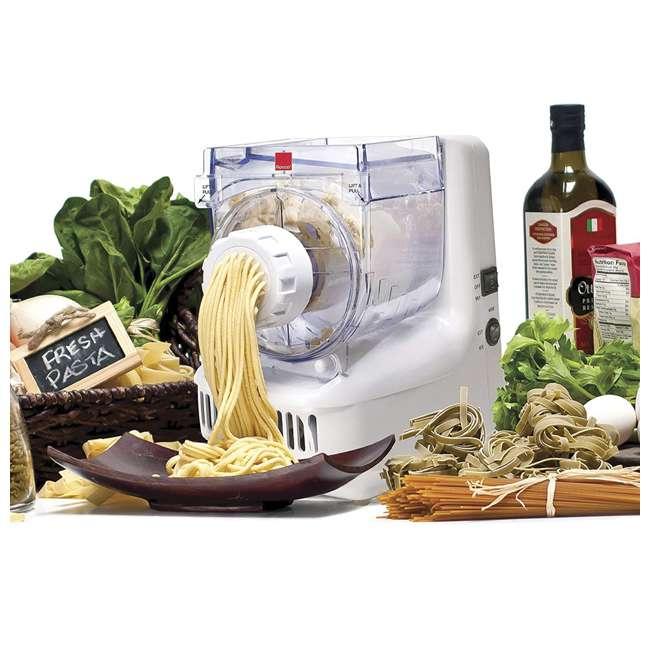 PM1305WHGEN Ronco Electric Pasta and Sausage Maker, White 2
