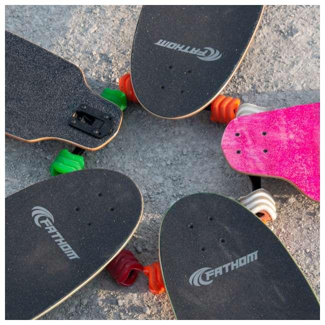 1000S70MMS78ATG Shark Wheel Sidewinder 70mm 78A Skateboard Wheels, Green 4