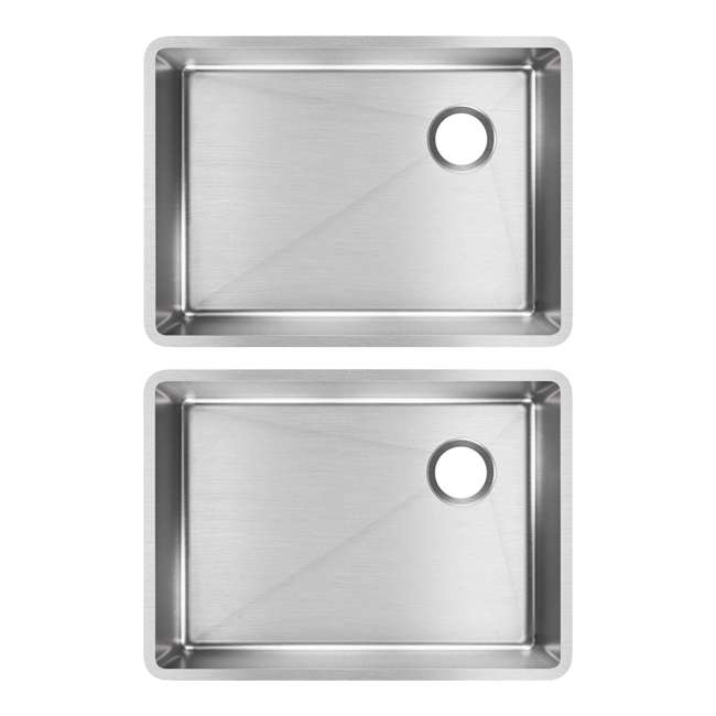 ECTRU24179RT Elkay Crosstown 25.5-Inch Undermount Single Bowl Sink (2 Pack)