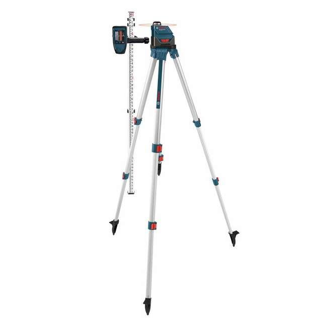 GLL 150 ECK-RT-RB Bosch GLL 150 ECKRT Self Leveling 360 Degree Laser Level (Certified Refurbished) 2
