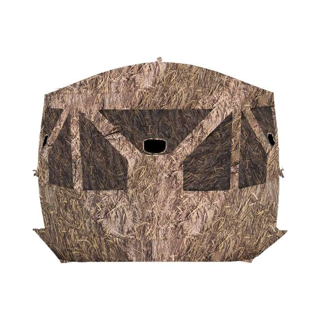 BARR-PT550BB Barronett Blinds Pentagon Pop Up Large Ground Hunting Hub Blind in Blades Camo