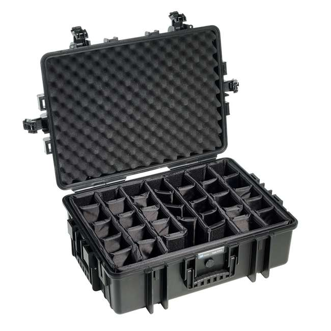 6500/B/RPD + CS/3000 B&W International 6500/B/RPD Hard Plastic Outdoor Case and Shoulder Carry Strap 4
