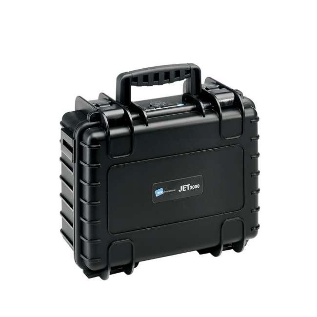 117.16/L B&W International 117.16/L Jet 3000 Plastic Portable Tool Box Case w/ Organizer