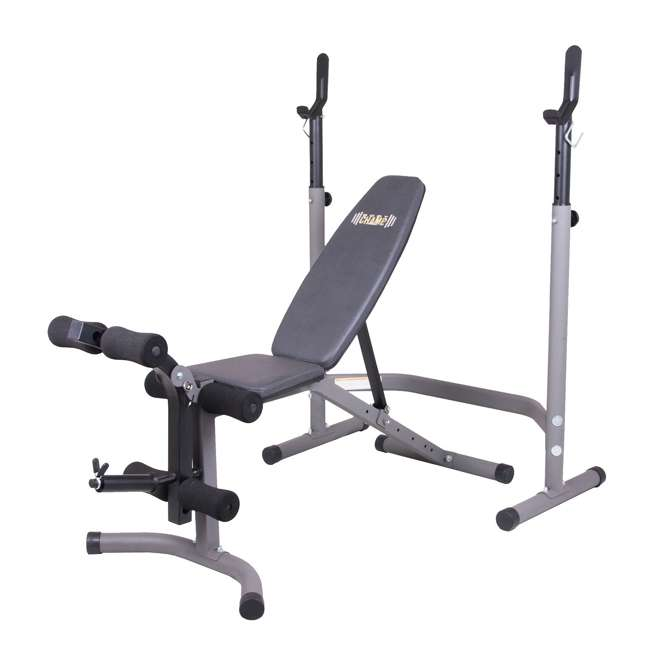 BCB3890 Body Flex Sports 2 Piece 5 Position Olympic Weight Bench