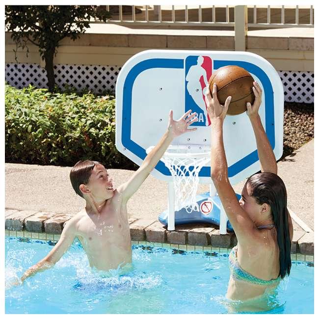 72931 Poolmaster NBA Pro Rebounder Swimming Pool Basketball Hoop 1