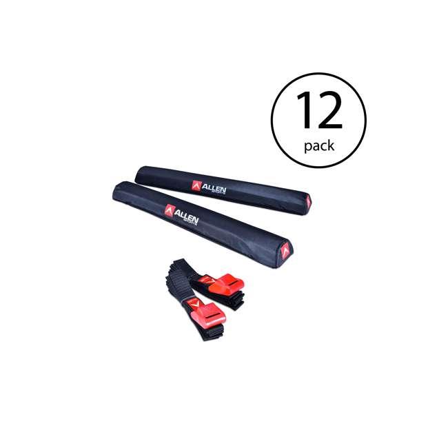 12 x 7010SU Allen Sports 24-Inch Rooftop Surfboard Rack Set (12 Pack)