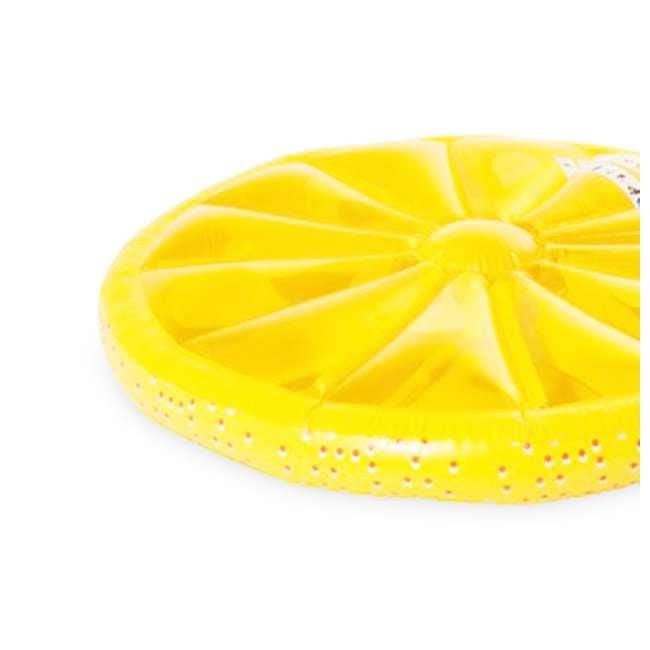 9054O + 9054Y Swimline 60-Inch Inflatable Orange & Lemon Slice Float 8