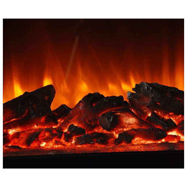 LS-IF1500-DOFP Lifesmart LS-IF1500-DOFP Large Room Quartz Infrared Fireplace Space Heater, Oak 1